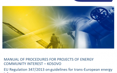 Manual of Procedures for Projects of Energy Community Interest - Kosovo: